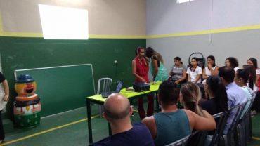 Reunião de Apresentação e Palestra com Sandra Correa